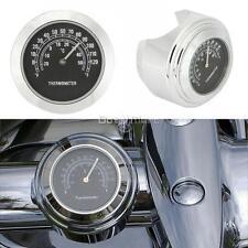 "1"" Motorcycle Thermometer For Yamaha V-Star XVS 250 650 950 1100 1300 XV1600 XVZ"
