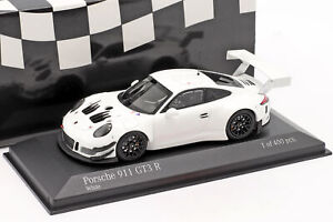 Porsche 911 (991) GT3 R Plain Body Version 2018 weiß 1:43 Minichamps