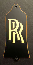 GUITAR TRUSS ROD COVER - Engraved Fits GIBSON USA - RANDY RHOADS RR - BLACK GOLD