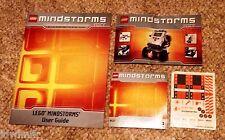 LEGO Mindstorms NXT 8527 User Guide, Quick Start, CD & Sticker sheet.