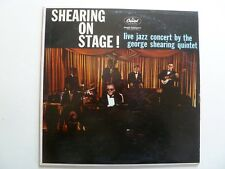 GEORGE SHEARING - Shearing On Stage! - Capitol T-1187 - Mono - M-