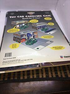 Vintage 1998 Chevron Corporation Toy Car Carrying Case Cardboard NIP Sealed