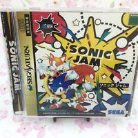 USED Sega saturn SONIC JAM 91477 JAPAN IMPORT