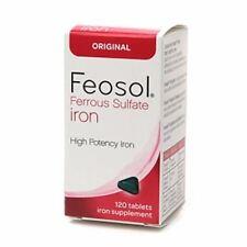 Feosol Ferrous Sulfate Iron, Original, Tablets 120 ea