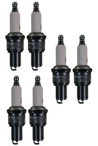 Set Of 6 Spark Plugs AcDelco For Chrysler Subaru Plymouth Nissan Mitsubishi 6CYL