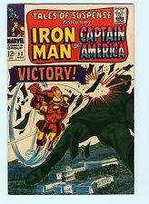 Tales of Suspense 83 8.5 VF+ Iron Man Captain America Marvel Comics Rare