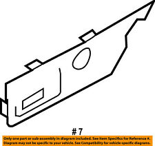 FORD OEM 08-10 F-350 Super Duty Seat Track-Housing Left 8C3Z14A706AA