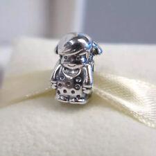Genuine Pandora Whimsical PRECIOUS GIRL Silver Charm Bead