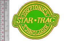 Vintage Skateboarding Kryptonics Star-Trac Skateboard Wheels 1970's Promo Patch