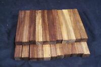 "22 Piece Black Walnut Pen Blanks 3/4 x 3/4 x 5"" Lathe Turning Wood Craft"