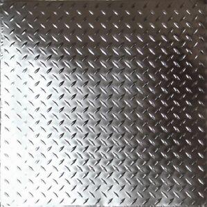 "#DIAMOND-Tin Ceiling Tiles - 24""x24"" Unfinished Drop-In, 5 pcs per box"