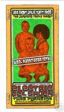 electric eel shock Rare Handbill Poster by Firehouse Ron Donovan Sperry