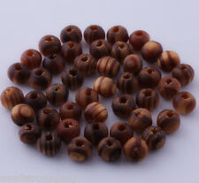 400 pcs Brown Wood Spacer Loose beads Bracelets charms Findings 6x5mm