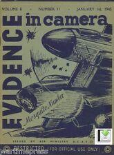4 Issues of Evidence in Camera Jan-Mar 1945 - Mosquito V2 Peenemunde - PDF / CD