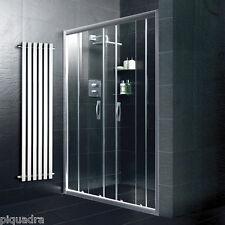 Box doccia porta scorrevole nicchia 170 in vetro cristallo 6 mm trasparente