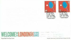 (48916) GB Cover London Olympic Games Table Tennis Gold Medals Olympic Park 2012