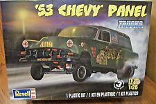 REVELL '53 CHEVY PANEL DELIVERY TRUCK 1/25 SCALE MODEL KIT