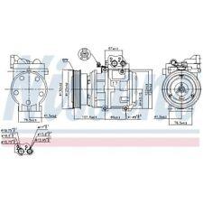 1 Kompressor, Klimaanlage NISSENS 89153 passend für HYUNDAI KIA