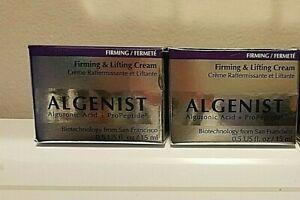 ALGENIST Firming Lifting Cream 2 X .5 oz  = 1.0 oz Alguronic Acid & ProPeptide3