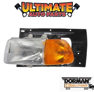 Headlight Assembly Drivers Side Left for 99-09 Sterling Truck