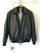 Adidas Team 2006 World Cup Leather Bomber Jacket Down Liner Medium Deadstock