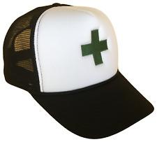 Medical Recreational Marijuana Green Cross Classic Mesh Trucker Cap Caps Hat Hat