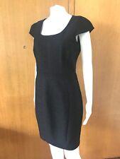 Portmans-Stretch Charcoal Marle Dress-Size 10