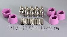 SG-55 AG-60 Plasma Electrodes Tips Nozzle 1.2 60Amp Fit LGK CUT-40/50/60A 25pcs