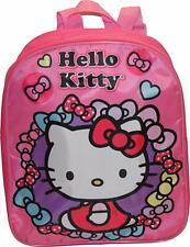 """Hello Kitty Girls Preschool Mini Backpack Toddler BookBag Kids Bag School 12"""""""