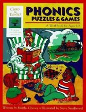 Phonics Puzzles & Games: A Workbook for Ages 6-8 (Gifted & Talented), Cheney, Ma