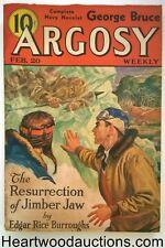 """Argosy"" February 20, 1937 Burroughs Cover Story"