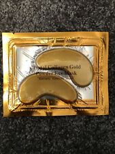 Crystal Collagen Powder Gold Eye Mask Anti Wrinkle Face Moisture Care Patch Pad