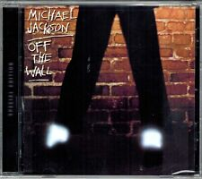 MICHAEL JACKSON OFF THE WALL SPECIAL EDITION CD EPIC 2001 REMASTERED NEW SEALED