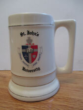"Vintage ST. JOHN'S UNIVERSITY 6"" Ceramic Mug"