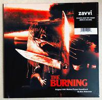 THE BURNING * RICK WAKEMAN * ZAVVI EXCLUSIVE LIMITED COLOUR VINYL SOUNDTRACK