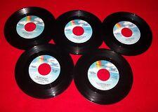 Nice lot 5 country pop HIT 45 1980s OAK RIDGE BOYS