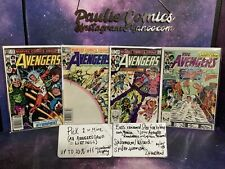 Pick-Avengers 232 233 235 240  Firefox Joins Marvel Comics Spiderman Rambeau
