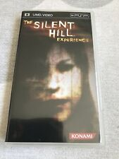 The Silent Hill Experience (USA PlayStation Portable, PSP UMD Video) Comp & Mint
