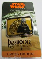Disney Pin 100594 WDW Star Wars Annual Passholder Chewbacca and Falcon Pin