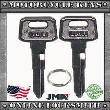 2 NEW UNCUT KEYS FOR YAMAHA MOTORCYCLES CODES: B32010-B79897- YH47 / YAMA-18D
