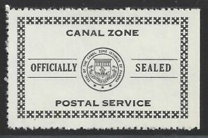 Officially Sealed Possession Stamp From Canal Zone OX6