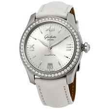 Glashutte Serenade Silver Dial Ladies Watch 39-22-02-22-44