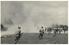Indochine, Guerre d'Indochine 1946-1954  Vintage silver print. La guerre d'