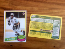 Custom RAY BOURQUE 1980-81 OPC Style RC High Quality card only 7 made!