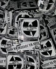 Wu-Tang Clan Enamel Pin Protect Ya Neck lapel 36 chambers rap pin hip hop 90s