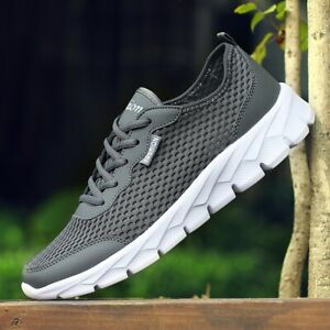 Men's Casual Running Sneakers Walking Sports Athletic Trainers Tennis Shoes Gym