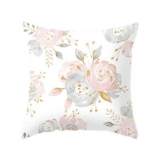 Pillowcase Cushion Cover Home Decoration Floral Pattern Flower Pillow Case AA
