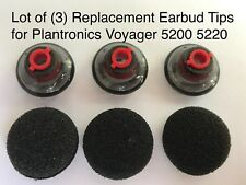 Replacement Ear Tips Buds Earbuds for Plantronics Voyager Bluetooth 5220 5200