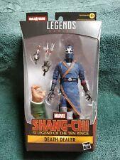 2021 Marvel Legends Series Shang-Chi Death Dealer Baf Action Figure