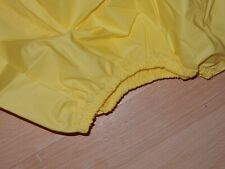 "ADULT BABY YELLOW NOISY PLASTIC PANTS. SIZE XXL, 2XL  38""-45"" WAIST"